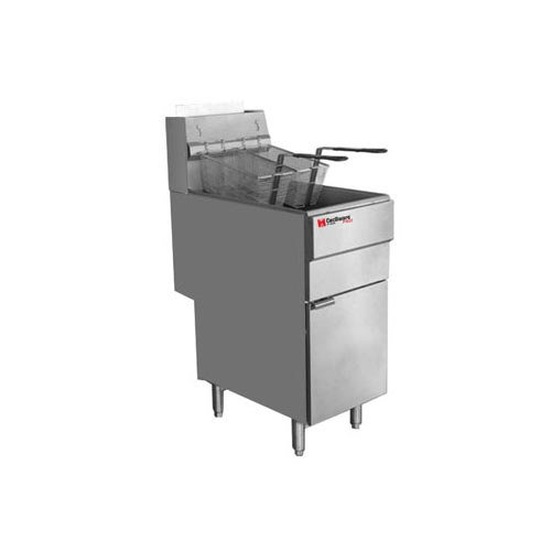 Grindmaster FMS403NAT Gas Fryer (Floor Model) by Grindmaster