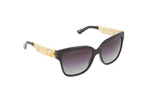 Dolce and Gabbana 4212 501/8G Black and Gold 4212 Wayfarer Sunglasses Lens - Wayfarer Dolce And Gabbana Sunglasses