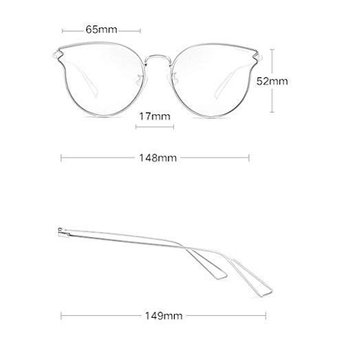 Couleur Miroir polarisées Sport B Des métal pour Monture de lunettes Lunettes Soleil A psychédélique Lumineux Femme de en soleil Femme à Vintage IgBqaHx8Bw
