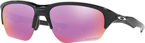 Oakley Men's Flak Beta Non-Polarized Iridium Rectangular Sunglasses, Polished Black, 64 - Beta Oakley Flak