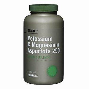 GNC Aspartate de potassium et de