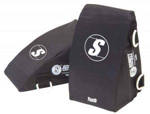 - (Price/1 Pair)Schutt Catcher's Comfort Knee Supports - Adult