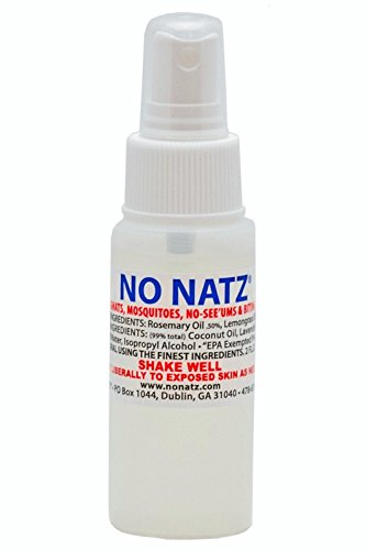 No Natz Insect and Bug Protection, 2oz Spray, All-Natural and Deet-Free, Hypo-Allergenic and Safe for Pets