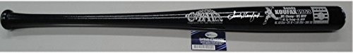 Sandy Koufax Signed Baseball Bat - Custom Stat 1963 WS MVP OA COA - Autographed MLB Bats