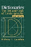 img - for Dictionaries: The Art and Craft of Lexicography book / textbook / text book