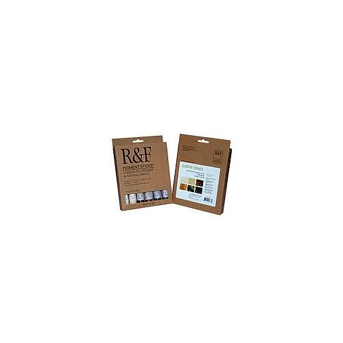 R&F Pigment Sticks Earth Tones Set of 6 ()