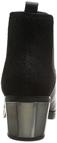 Calvin Klein Jeans IZZY BABY CALF/PONY - Botas con forro para mujer Negro