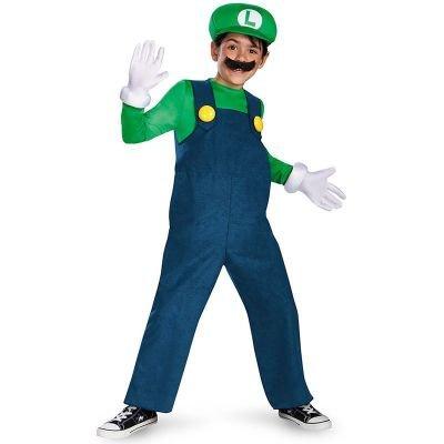 Disguise Nintendo Super Mario Brothers Luigi - Disfraz clásico ...