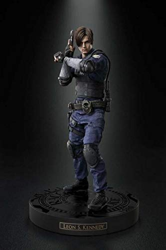Capcom BIOHAZARD RE: 2 Z Version Collector's Edition Benefits Leon S. Kennedy PVC Figure Height:About 11.6 inch [Japan Import]