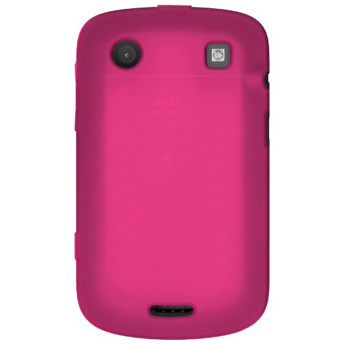 Amzer Silicone Skin Jelly Case for BlackBerry Bold 9900/9930 - 1 Pack - Case - Frustration-Free Packaging - Hot ()