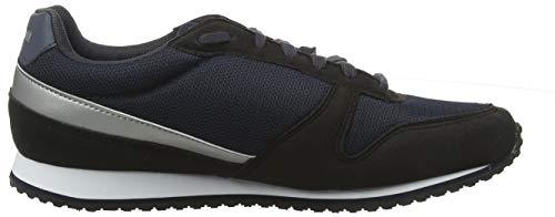 Sport Silver old Silver W Ii Sportif Mujer Para Le Negro Coq black Zapatillas Black Alpha Silver old nq1xXZ