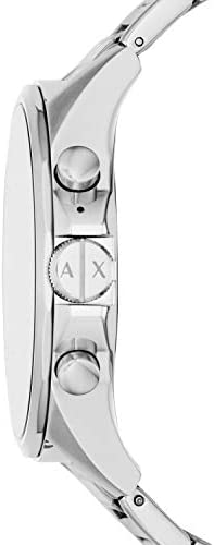 Armani Exchange Men's Smartwatch Powered with Wear OS by Google with Heart Rate, GPS, NFC, and Smartphone Notifications 31wK3lpnnxL