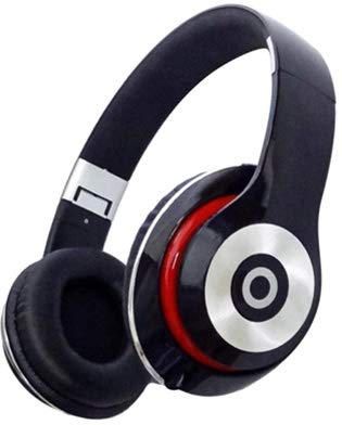 Greatest Stereo Headphones DJ Style Dynamic Sound Bass Headset w/Mic Handsfree Calling 40mm Driver Unit 3.5mm Aux Input Padded Ear Cushions & Headband Adjustable Foldable (Dynabass Headphones FDHM)