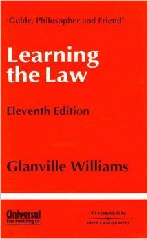 Learning the Law (11th Edition)