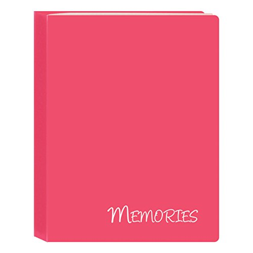 Memories Mini Photo Album (Pioneer Photo Albums I-46M/PK 36 Pockets Hold Memories Mini Photo Album, Pink, 4