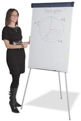 Lavagna bianca magnetica Lavagna a fogli mobili flipover 67x100 cm