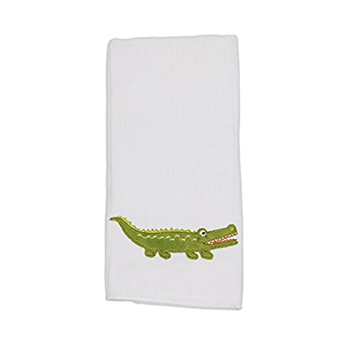 (Maison Chic Single Burp Cloth, Gary The Gator )