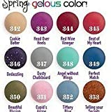 SNS Nail dipping powder Gelous color - 12 NEW Colors SPRINGS Collection