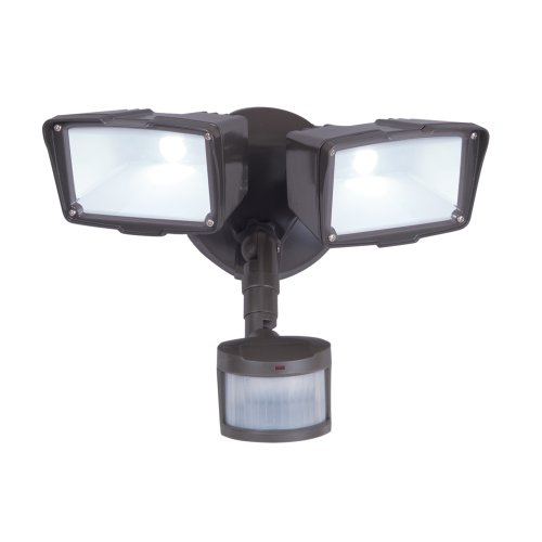 All-Pro MST27920LES, 270 Degree Motion Sensor Twin LED Floodlight, Energy Star, Bronze - 270 Degree Motion Detector