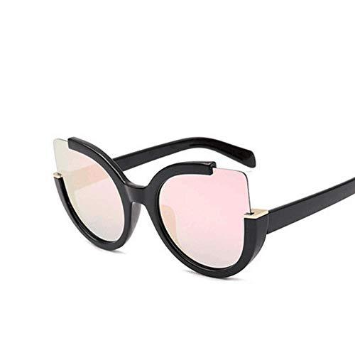 de Soleil Black Mode Black De Pink Soleil Lunettes Yellow Yeux Lunettes Couleur TLMY De Chat Rétro q1v7wzf