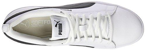 Blanco V2 para Black 1 Puma Puma puma Zapatillas Smash L Mujer Wns White FXqwEnSx0w