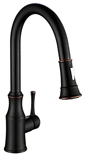 AguaStella AS94ORB Pull Down Kitchen Sink Faucet Single Handle Oil Rubbed Bronze