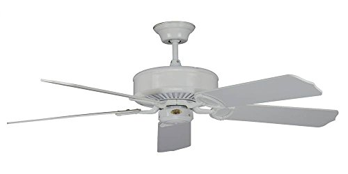 Madison Ceiling Fan w 16 deg. Pitch Fan Blades (52 in. Diam. 14 in. H (20.40 lbs.))