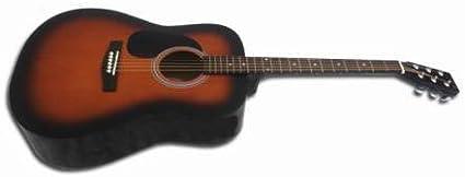 Pack Guitarra Acústica Sunburst Memphis 904 SB: Amazon.es ...