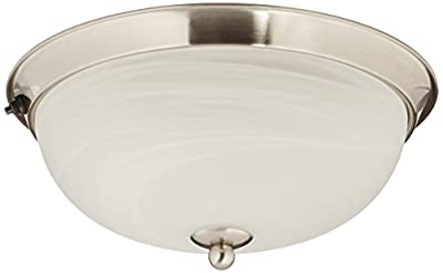 ITC 39635NI Glitter Ceiling Dome Light