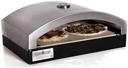 Camp Chef Italia Artisan Pizza Oven Accessory, 16-Inch (Renewed)