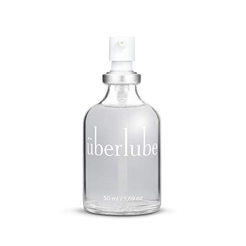 Überlube Luxury Lubricant   Latex-Safe Natural Silicone Lube with Vitamin E   Unscented, Flavorless, Zero Residue, Works…