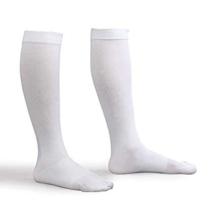 Advanced Orthopaedics Anti-Embolism Knee High Stockings, White, Small