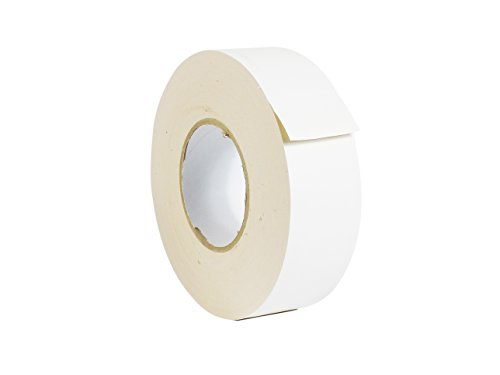 WOD CGT-80 White Gaffer Tape Low Gloss Finish Film, Residue Free, Non Reflective Gaffer, Better than Duct Tape (Available in Multiple Sizes & Colors): 2 in. X 60 Yards (Pack of 1)