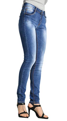 LUSI MADAM Women's Ideal Skinny Denim Jeans (W210,, used for sale  Delivered anywhere in USA