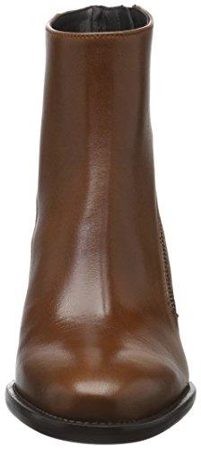 Zinda 25, Botines para Mujer Marrón - marrón (Cuero)
