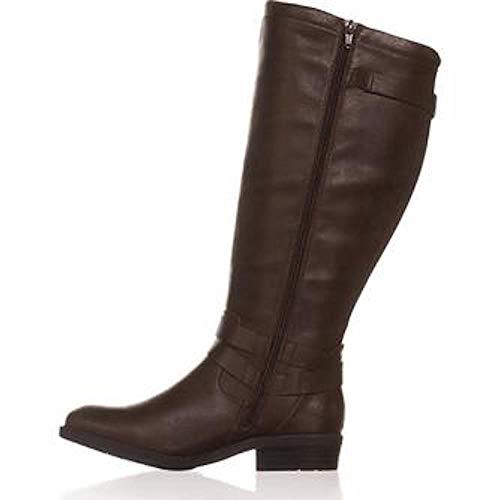 BareTraps Womens Yalina2 Wide Calf Riding Boots Brown 6.5 Medium (B,M)