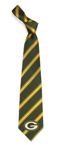 Eagles Wings Green Bay Packers Woven Polyester Tie - Green Bay Packers One Size