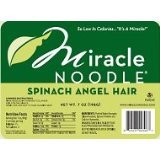 Miracle Noodle Spinach 4 Pack by Miracle Noodle