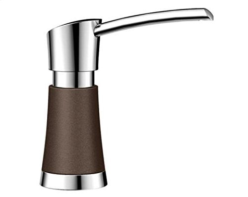 Blanco 442050 Artona Soap Dispenser, Cafe Brown/Stainless Dual Finish by Blanco