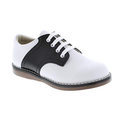 FootMates Unisex Cheer 3 (Infant/Toddler/Little Kid) White/Black Oxford 7.5 Toddler M/W by FOOTMATES (Image #3)