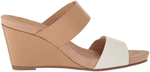 Laundry Nude Sandal Pale Tasty by CL Women's Wedge Chinese White ExwpPvq1