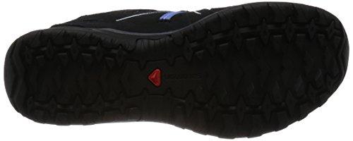 Salomon Ladies Ellipse 2 Gtx W Scarpe Da Trekking E Da Trekking, Nero Grigio (asfalto / Nero / Blu Petunia 000)