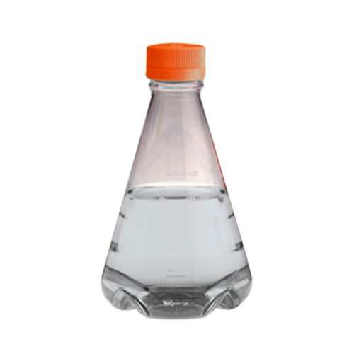 (Corning 431401  Polycarbonate 500mL Baffled-Bottom Sterile Erlenmeyer Flask with Polypropylene Vented Screw Cap (Case of 25))