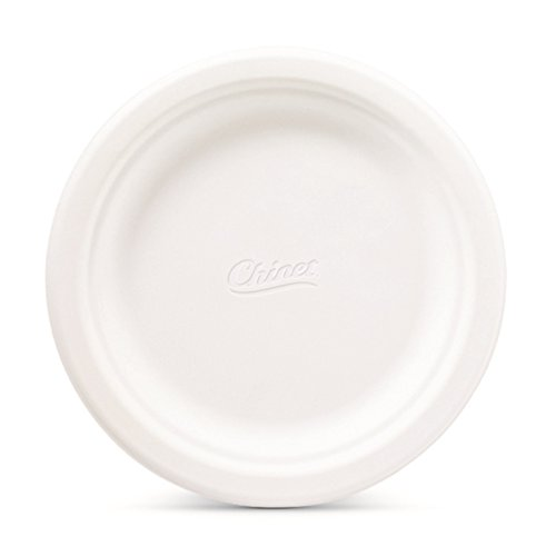 Chinet Classic White Fiber Dessert & Appetizer Plates, 420 Count by Chinet (Image #1)