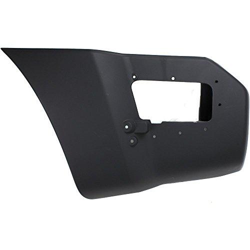 (Bumper End for Nissan Nissan Xterra 05-15 Rear Textured Left Side Plastic Textured)