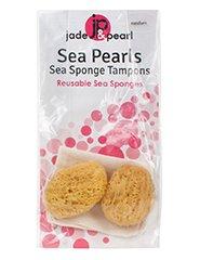 Jade & Pearl SEA PEARL SPONGE TAMPON MD 2PK
