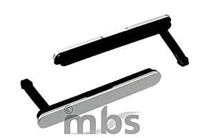 Tapa lateral que cubre la ranura de la tarjeta SIM / microSD para Sony E6653 Xperia Z5, color plata