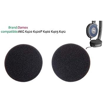 2x Foam Pads Ear Pad Sponge Earpad Headphone Cover For AKGK420 K403 K402 K412P