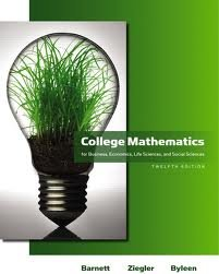 Read Online College Mathematics for Business, Economics, Life Sciences and Social Sciences 12th (twelve) edition PDF