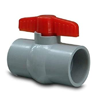 Buy Pvc Ball Valve Pasting 1 2 Inch 2 Pcs Online At Low Prices In India Amazon In